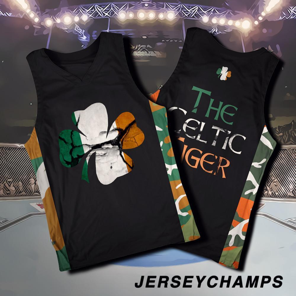 Limited Edition The Celtic Tiger Baseball Basketball Jersey