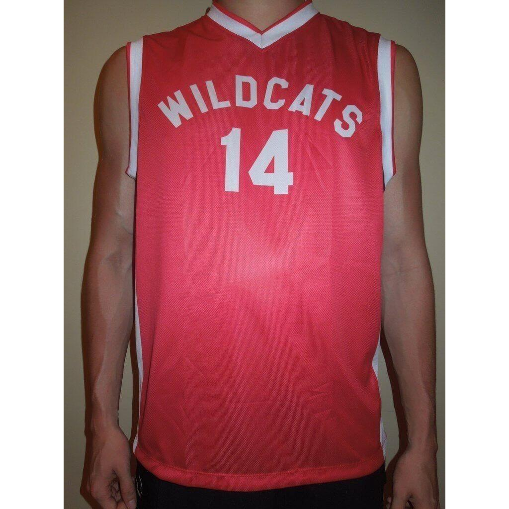 Troy Bolton Wildcats Basketball Jersey