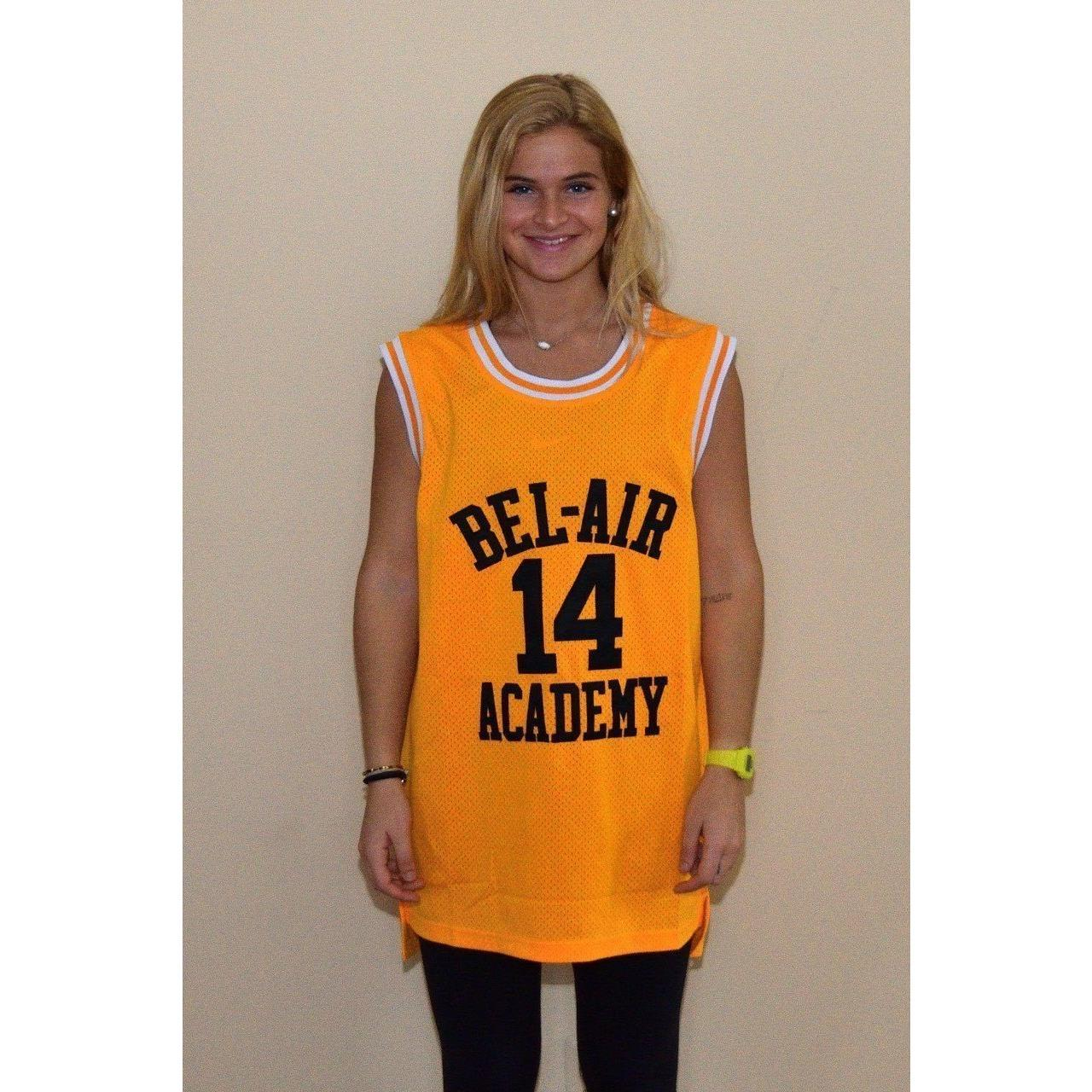 520cfaa57993 Will Smith 14 Bel Air Academy Basketball Jersey Stitched - Jersey Champs