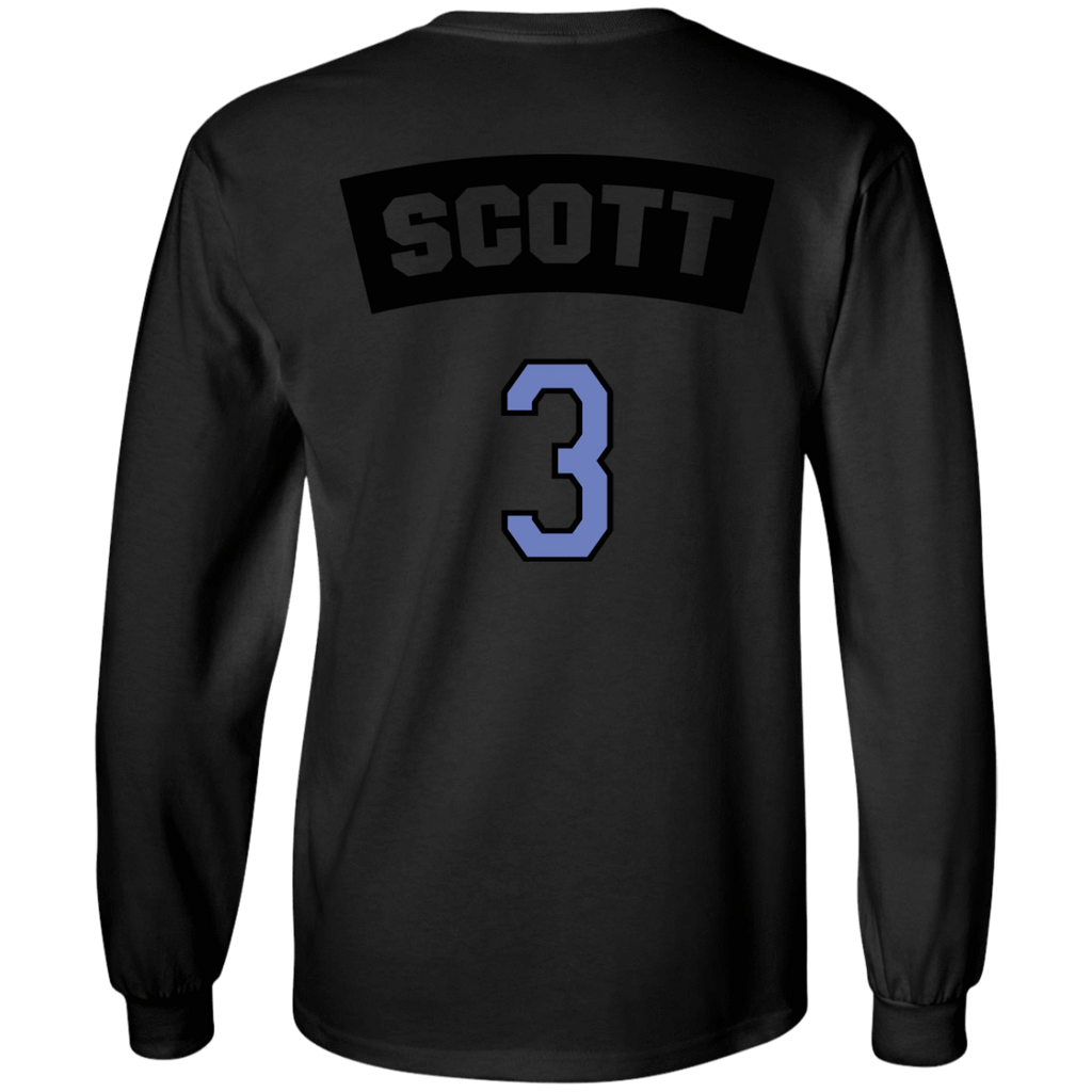 One Tree Hill #3 Long Sleeve Shirt - Jersey Champs