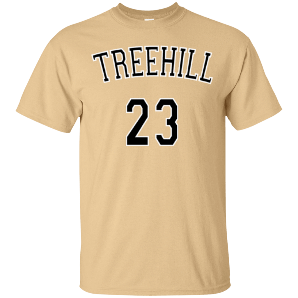 One Tree Hill Nathan Scott 23 Cotton T-Shirt - Jersey Champs