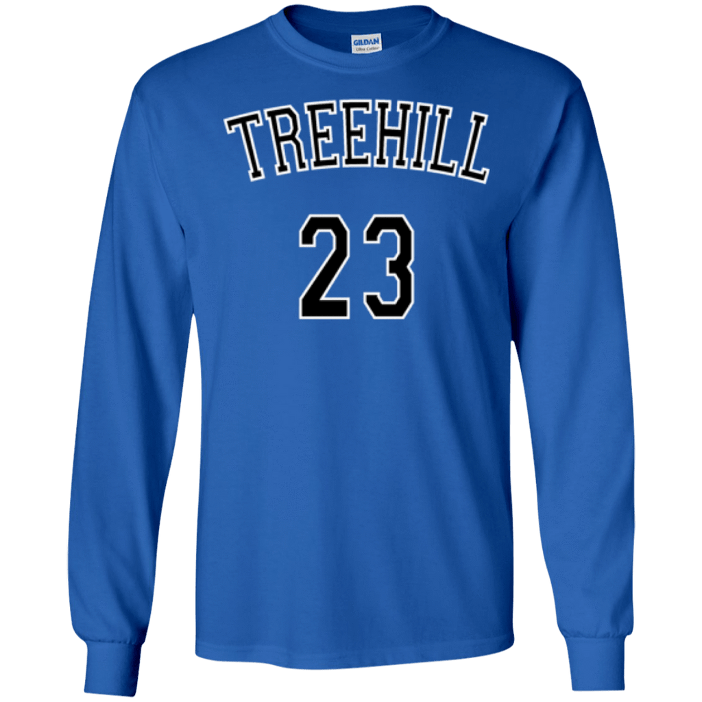 One Tree Hill Nathan Scott 23 Long Sleeve Shirt - Jersey Champs