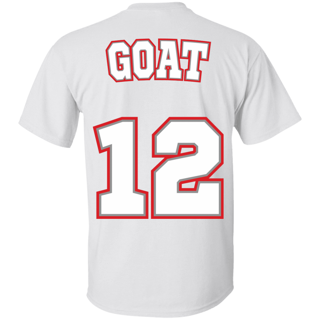 New England Goat 12 Cotton T-Shirt - Jersey Champs