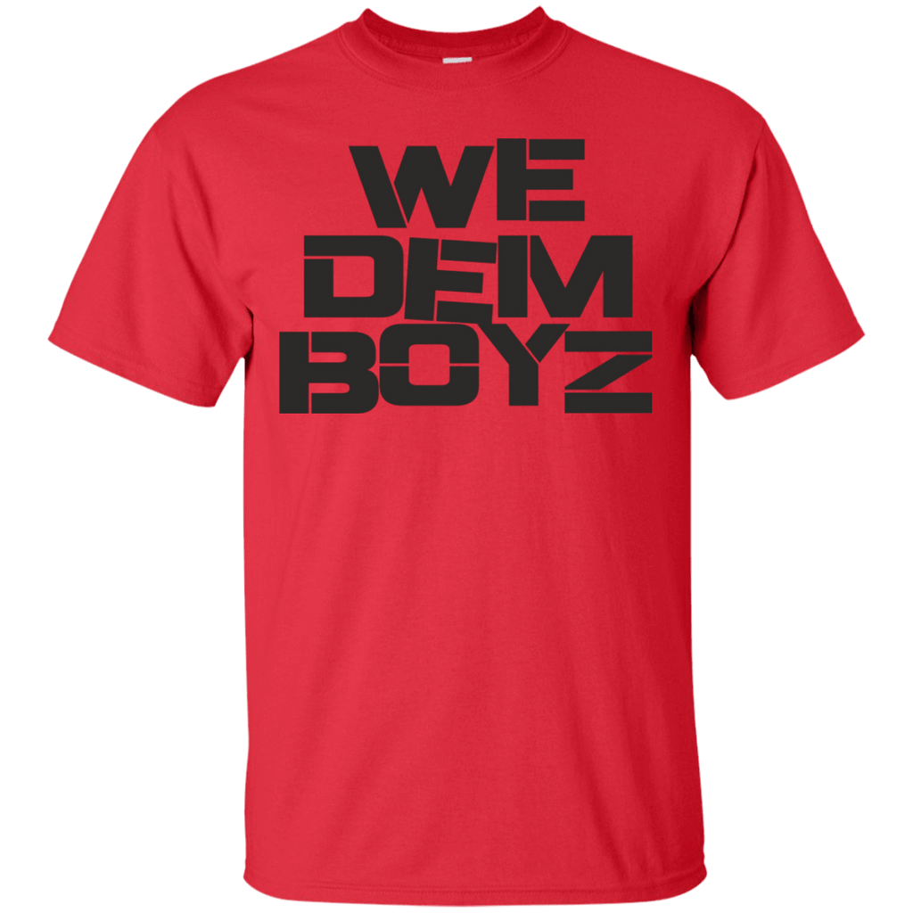 We Dem Boyz T-Shirt - Jersey Champs