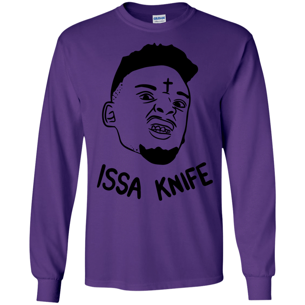 Issa Knife Long Sleeve Shirt - Jersey Champs