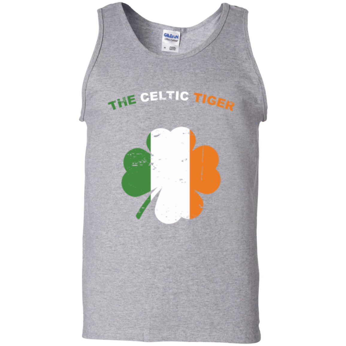 e43b328e7 The Celtic Tiger Cotton Tank Top - Jersey Champs - Custom Basketball
