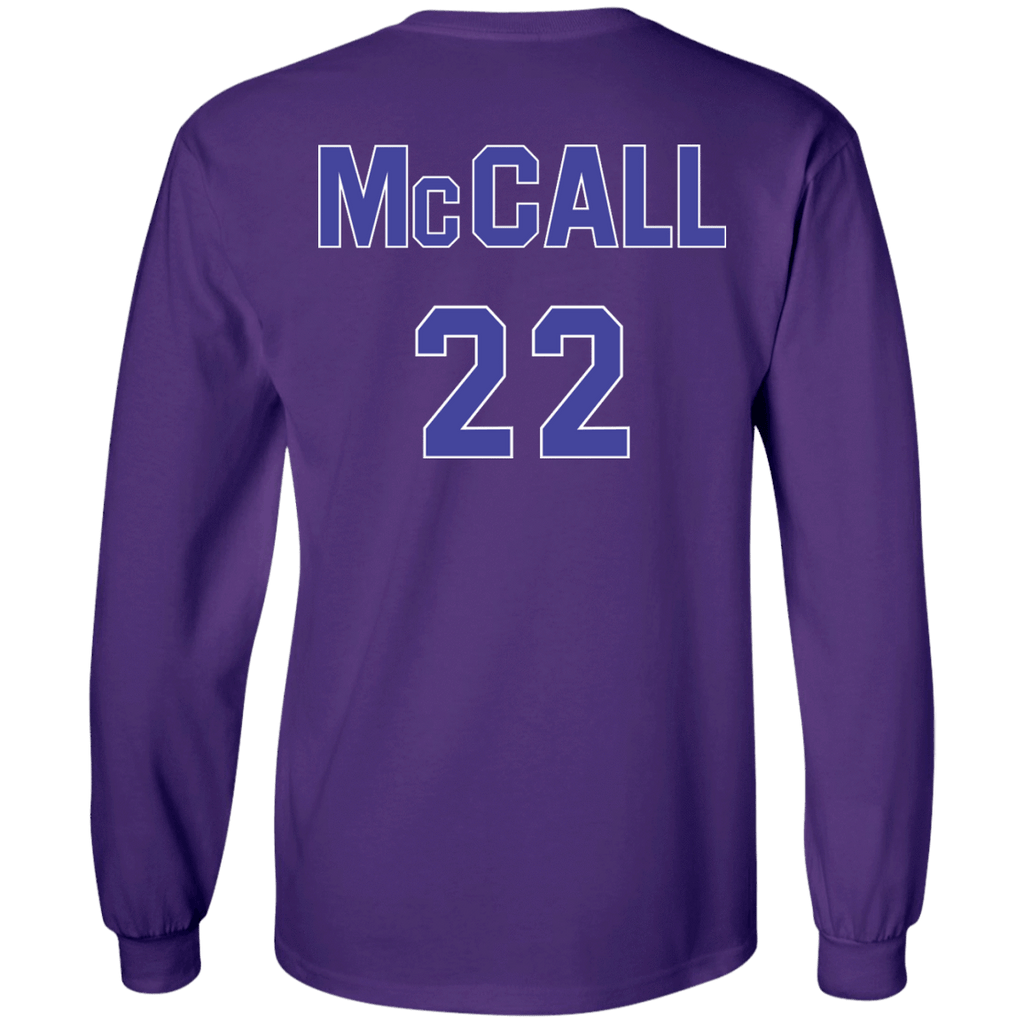 Quincy McCall #22 Long Sleeve shirt - Jersey Champs