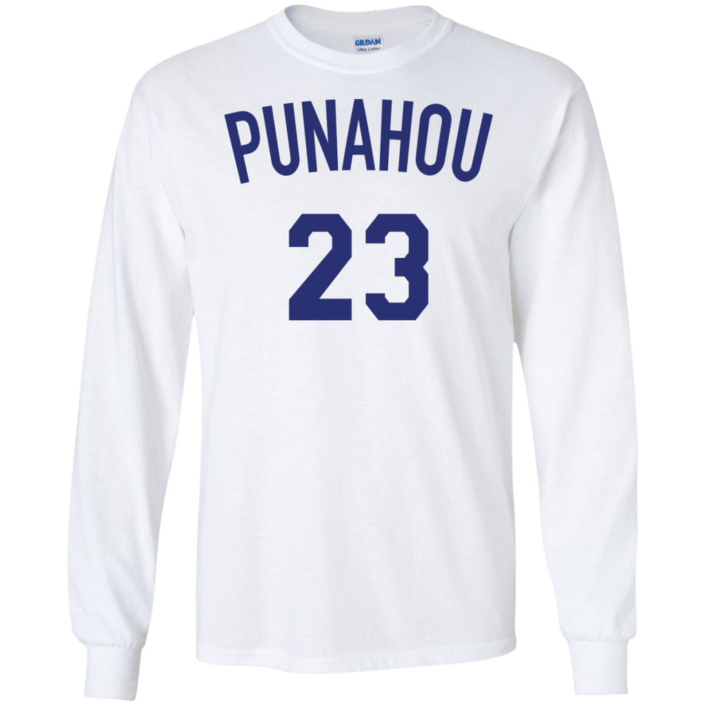 Punahou 23 Obama Long Sleeve Shirt - Jersey Champs