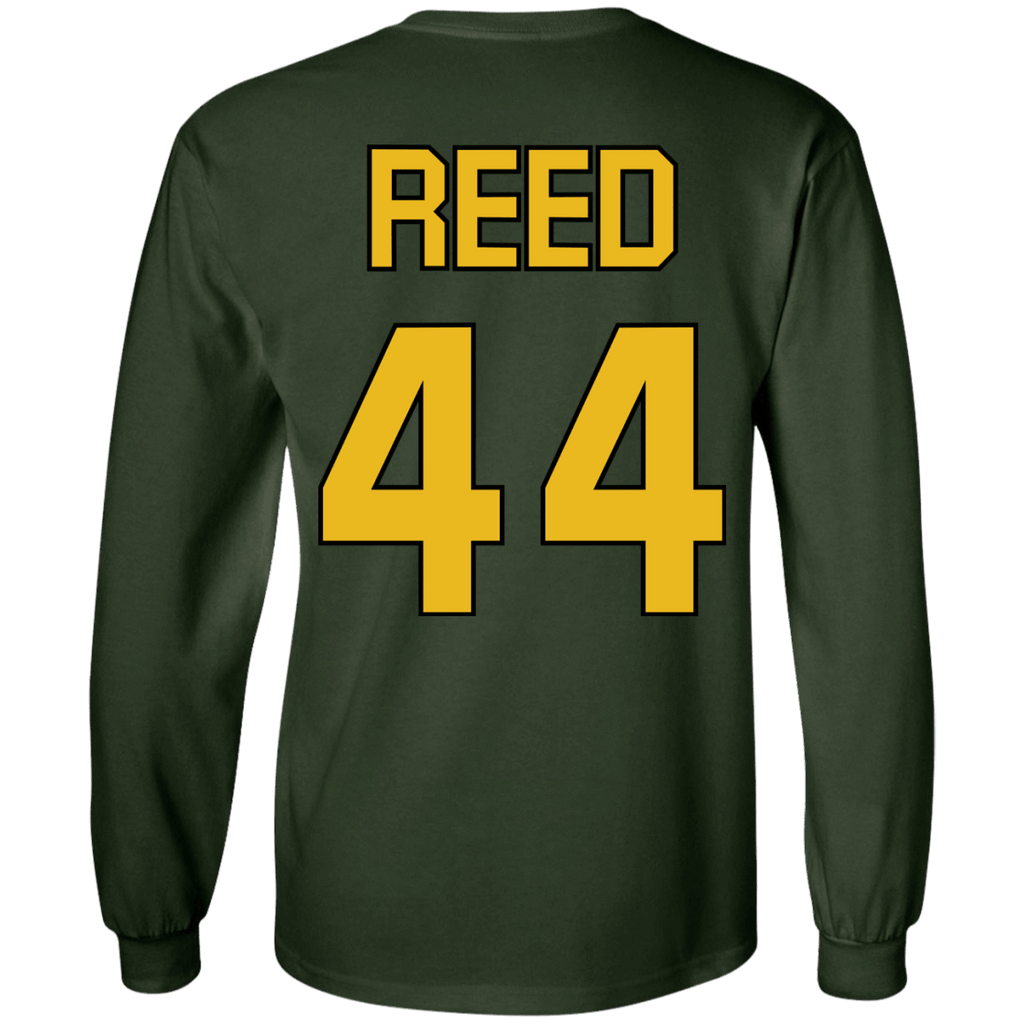 Mighty Ducks Long Sleeve Shirt #44 Reed - Jersey Champs