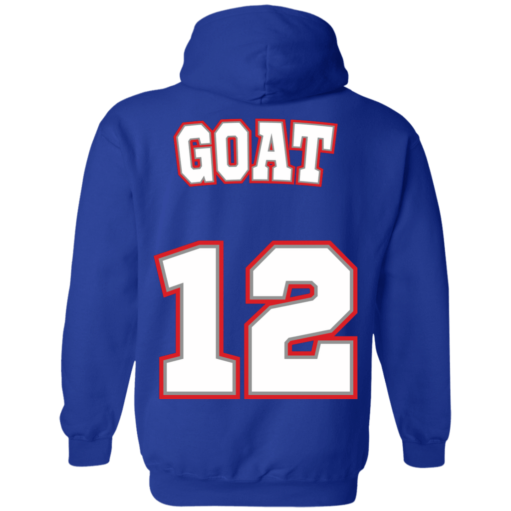 New England Goat 12 Hoodie - Jersey Champs