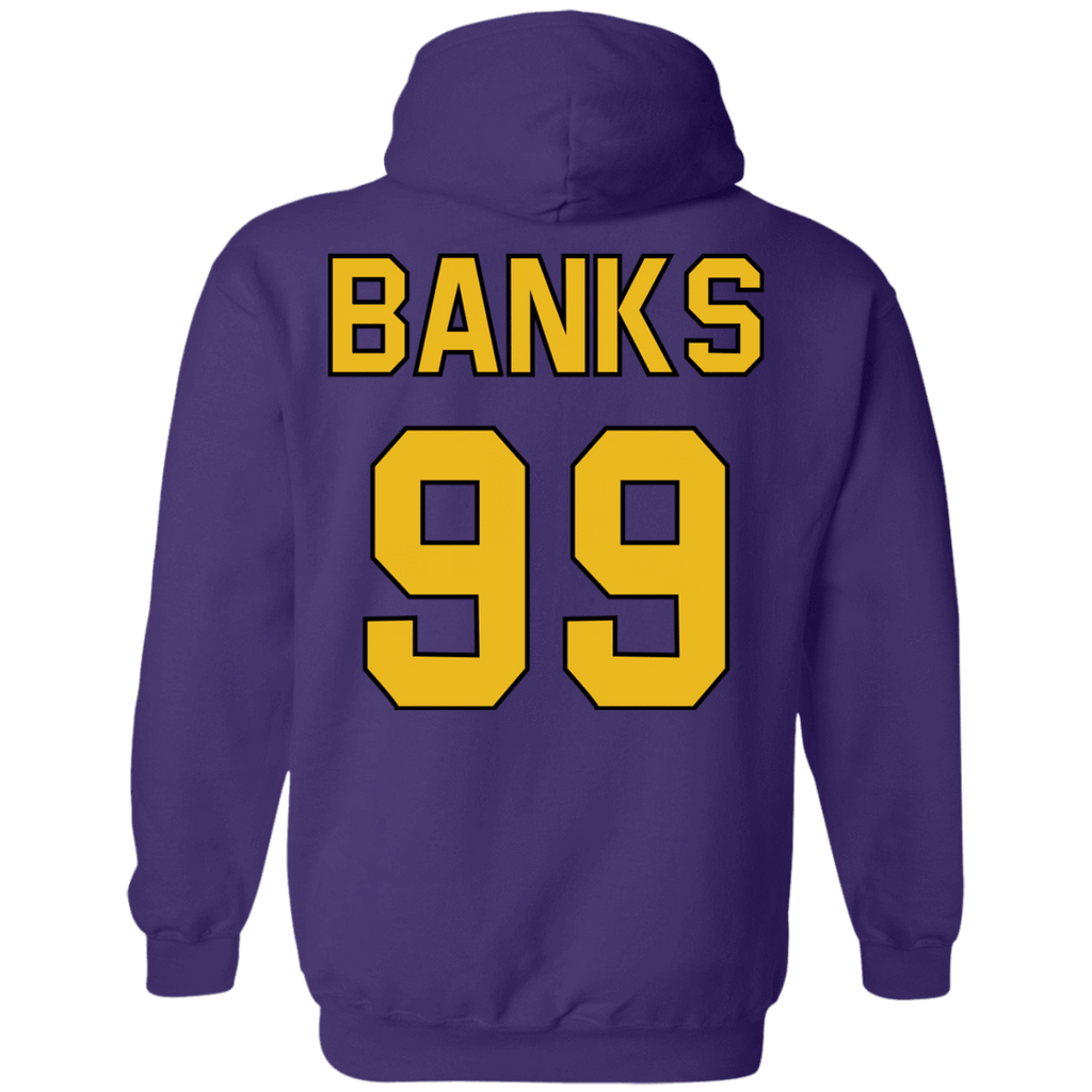 Mighty Ducks  Hoodie #99 Banks - Jersey Champs
