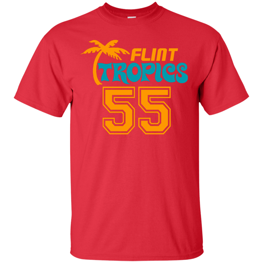 Flint Tropics Vakidis #55 Cotton T-Shirt - Jersey Champs