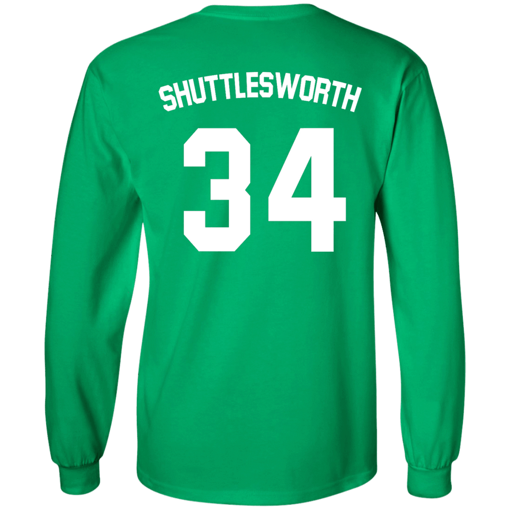 JESUS SHUTTLESWORTH #34 Long Sleeve Shirt - Jersey Champs