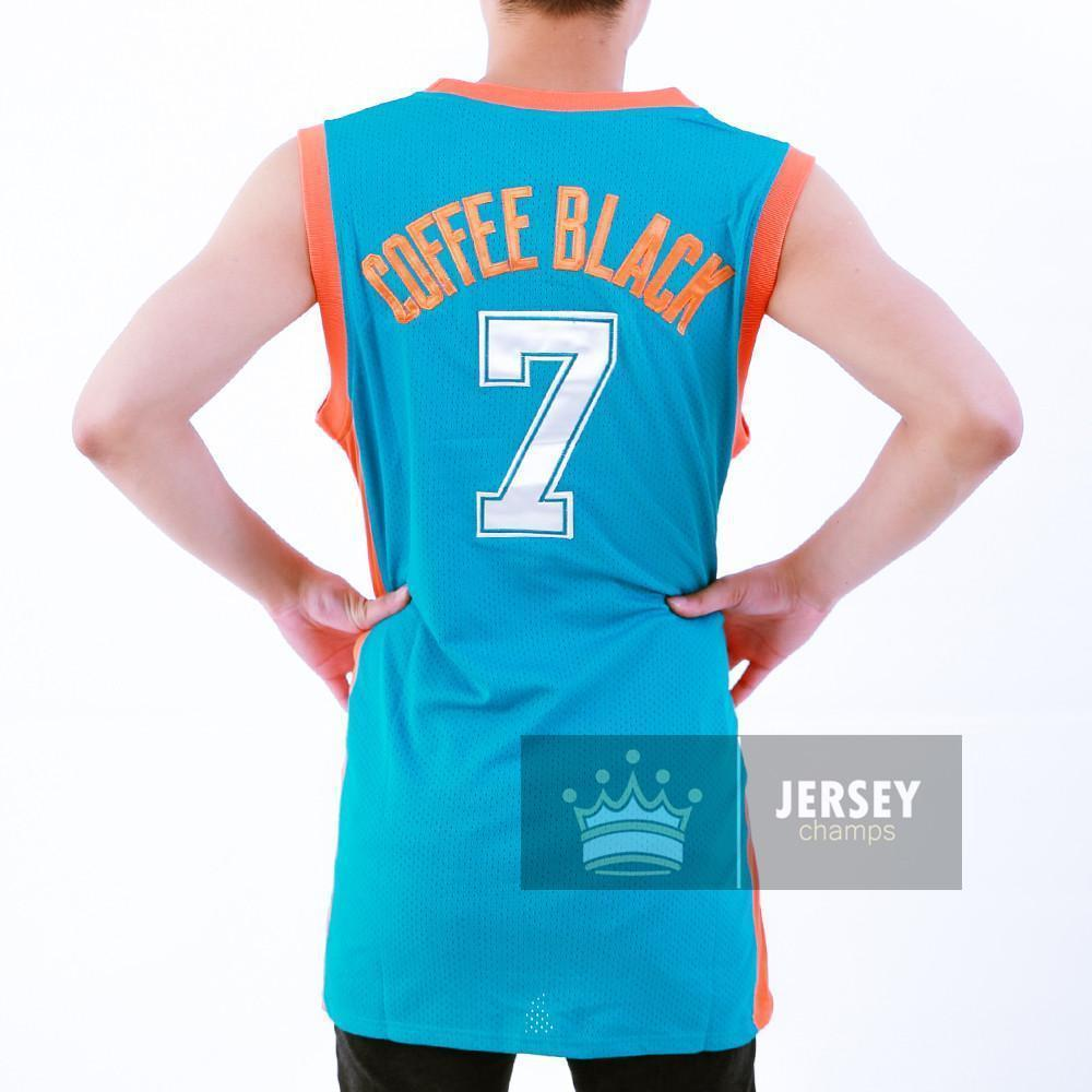 Stitched Coffee Black Flint Tropics Basketball Jersey Green/White #7 Stitched - Jersey Champs
