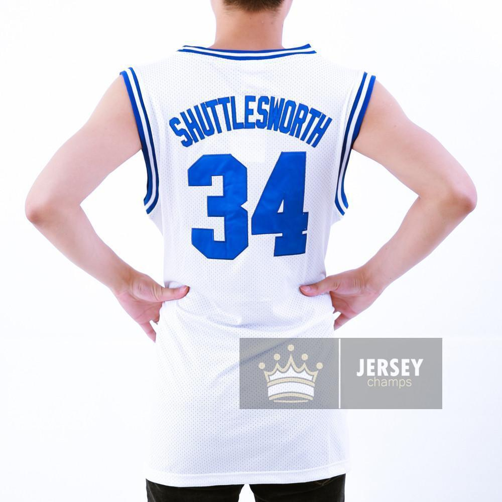 Allen Jesus Shuttlesworth 34 Lincoln High School Stitched Basketball Jersey - Jersey Champs