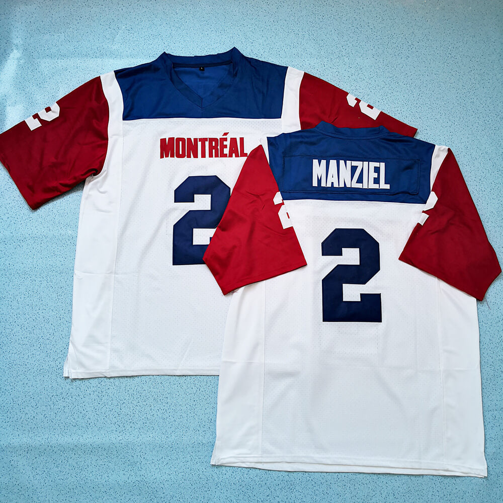 c0c049eb7e5 Johnny Manziel Montreal Alouettes Football Jersey - Jersey Champs