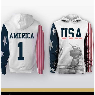 USA America Hoodie - Jersey Champs