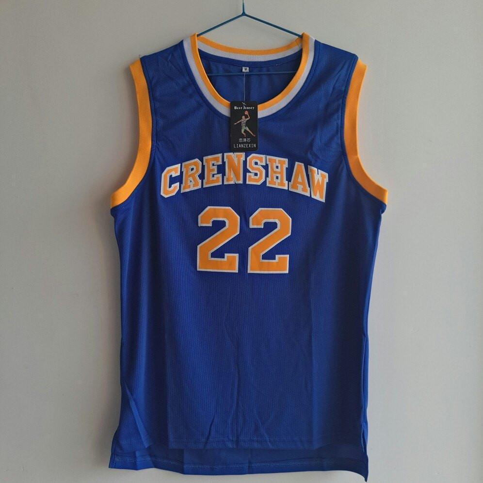 7935eaf3ded Quincy McCall Crenshaw Basketball Jersey – Jersey Champs