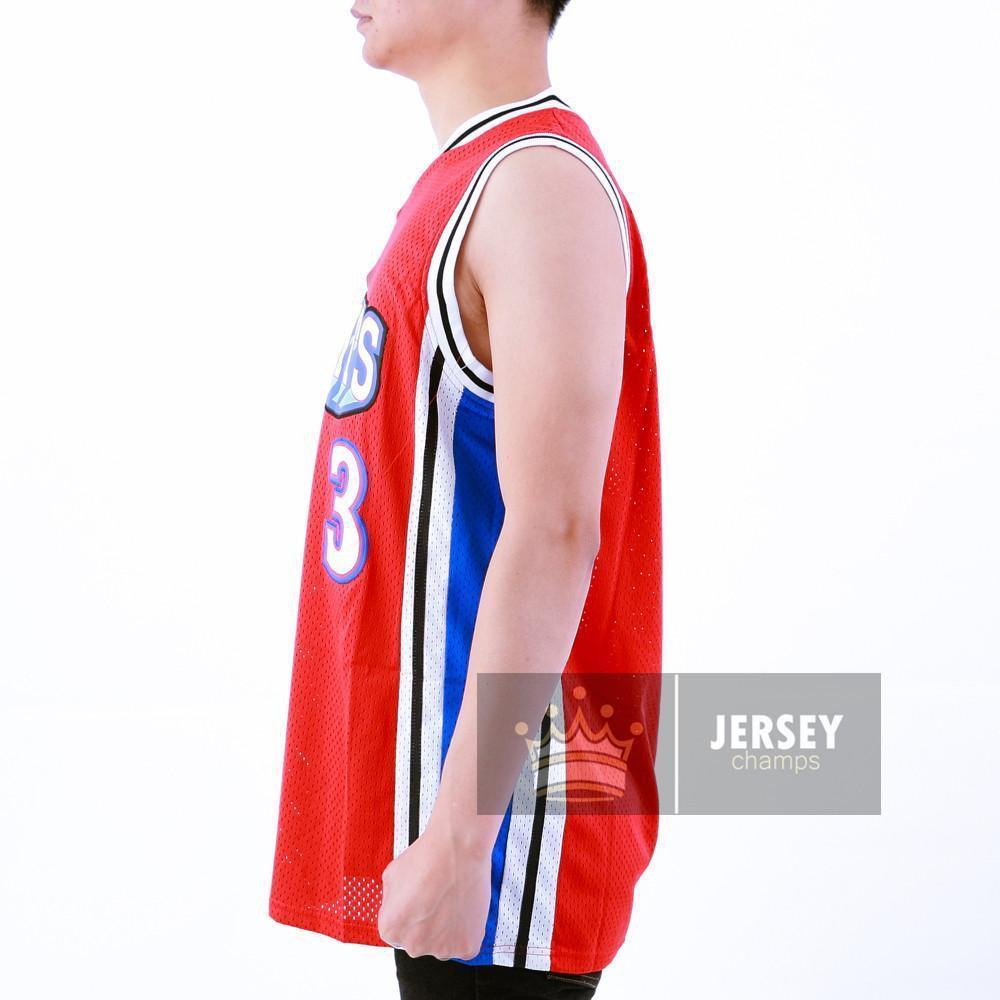 6a199dbd94f Calvin Cambridge Basketball Jersey Shorts Like Mike Los Angeles Knights Red/ White