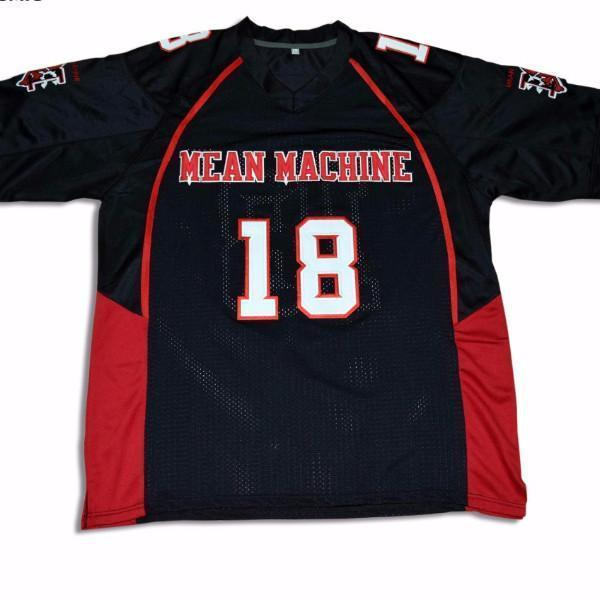 Paul Crewe Mean Machine Longest Yard Movie Jersey Stitched #18 - Jersey Champs