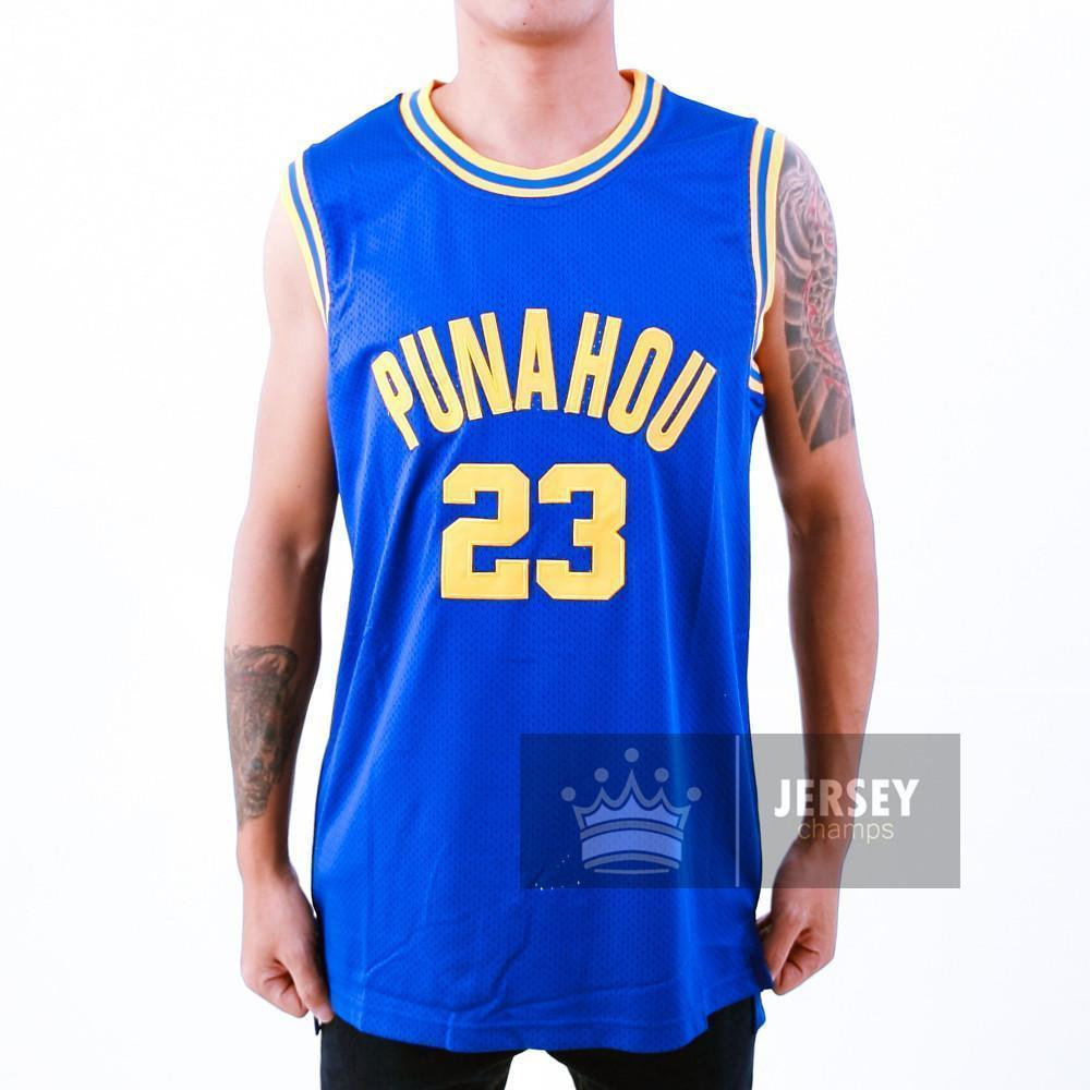 Bad Boy Smalls Basketball Jersey  72 Embroidery 32.00 39.99. Sale. Barack  Obama Punahou High School Basketball Jersey Blue Stitched - Jersey Champs -  Custom ... f08baabd2
