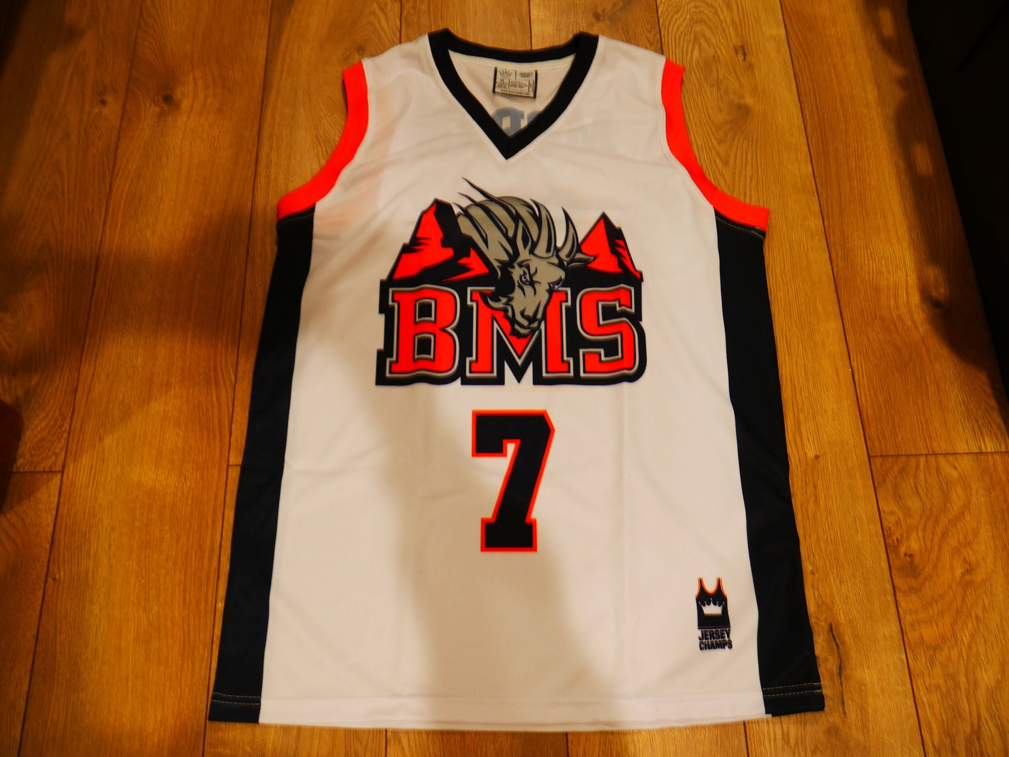 Alex Moran Blue Mountain State Basketball Jersey 7 - Jersey Champs cfd5bd4dff53