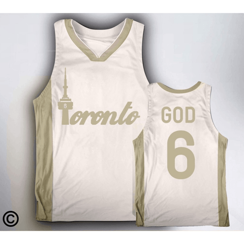 Toronto 6 God Basketball Jersey