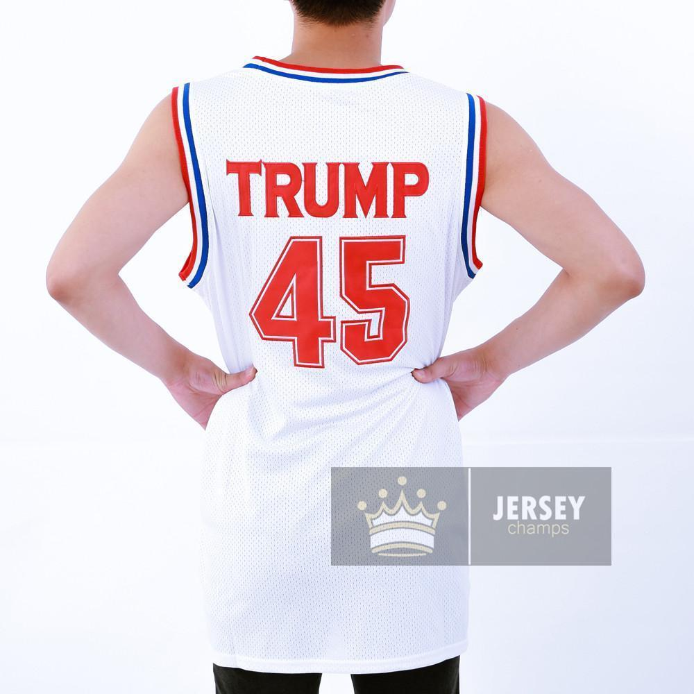 Trump 45 USA Basketball Jersey - Jersey Champs