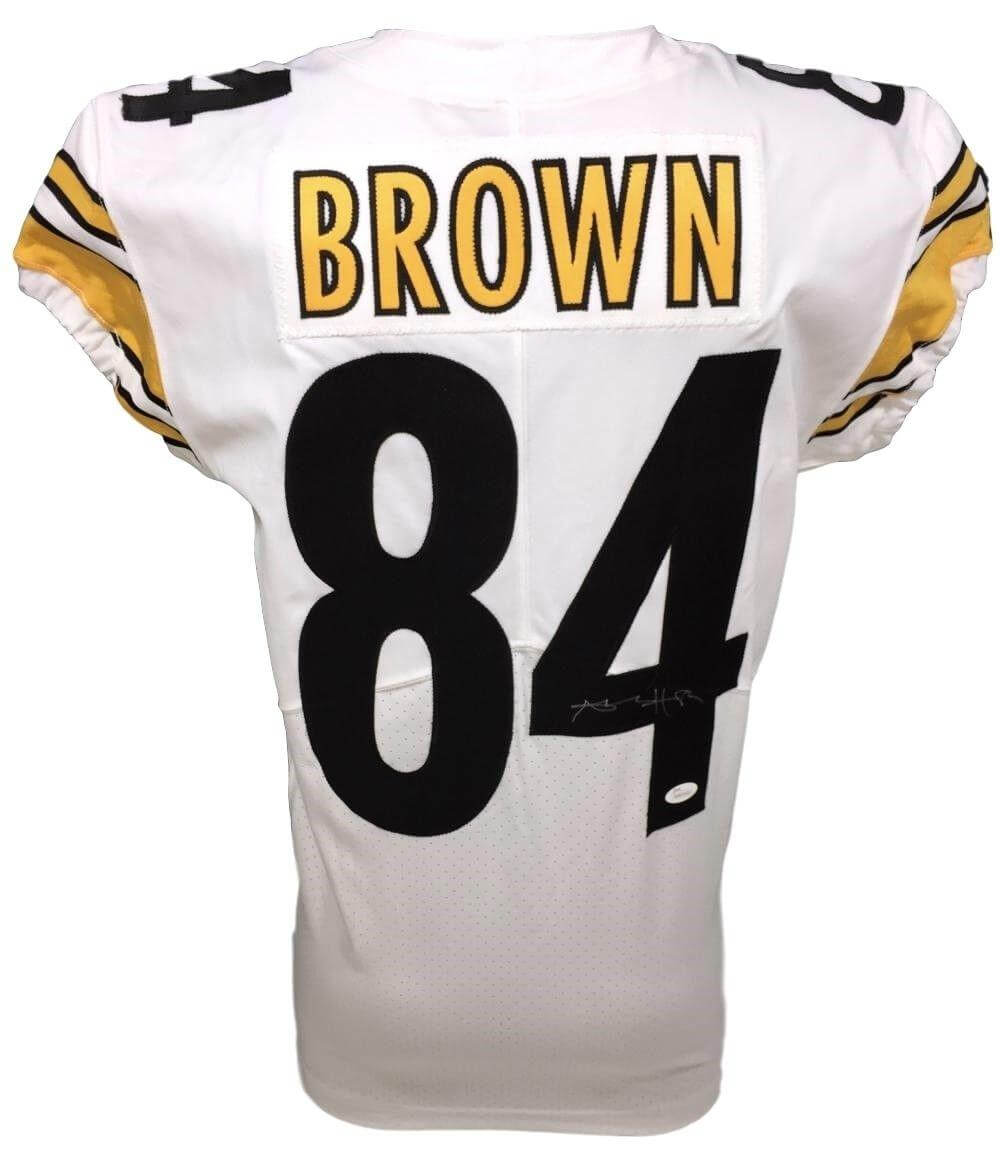 24018ca9b64 Antonio Brown Pittsburgh Steelers Autographed Jersey - Jersey Champs