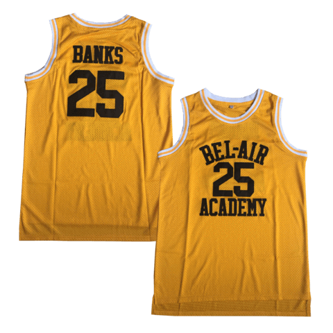 banks 25 basketball jersey