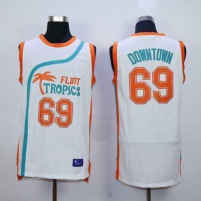 Flint Tropics Downtown 69 Basketball Jersey