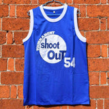 Above The Rim Kyle Watson 54 Tournament Shoot Out Basketball Jersey Blue Stitched