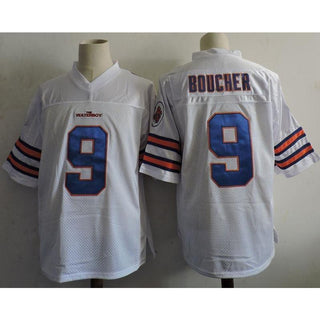 Bobby Boucher Football Jersey White - Jersey Champs