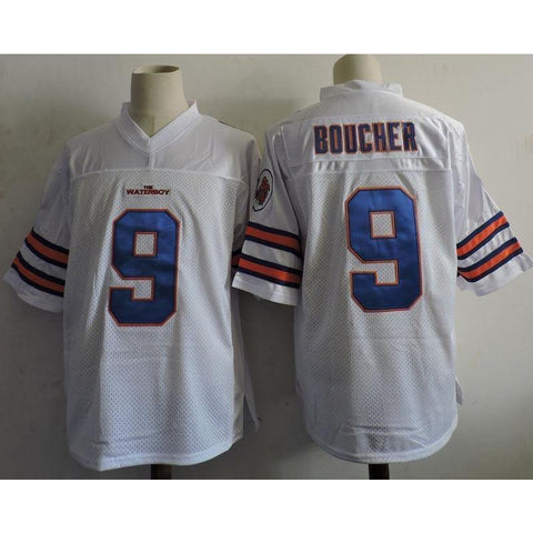 Bobby Boucher Football Jersey White