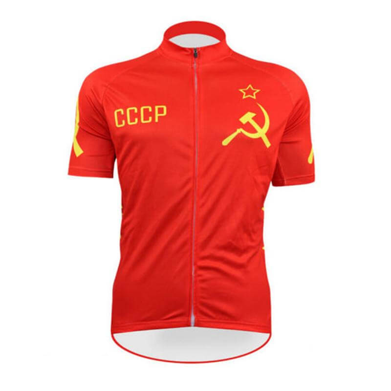 bb5d667da Russia CCCP National Cycling Team Jersey - Jersey Champs