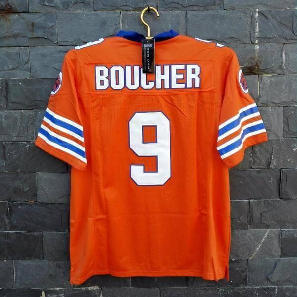 Bobby Boucher The Waterboy Mud Dogs Football Jersey Orange