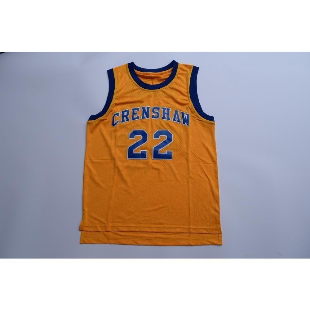 Quincy McCall CRENSHAW Basketball Jersey #22