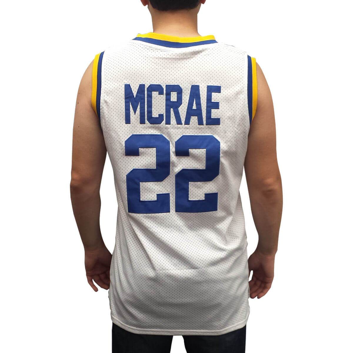 38dff2466 Butch McRae  22 Western Basketball Jersey Penny White - Jersey Champs -  Custom Basketball