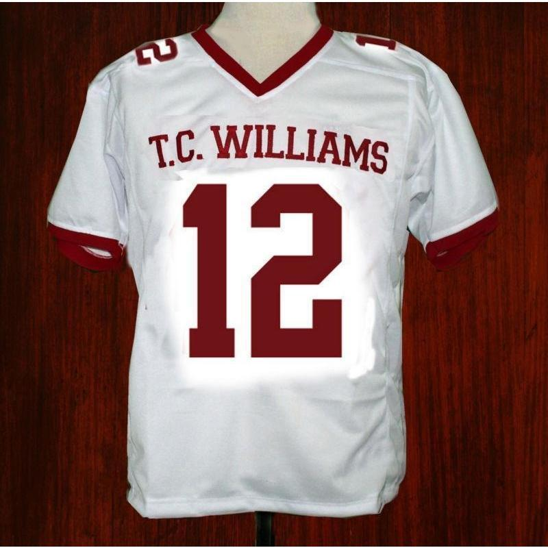 Remember The Titans Bass 12 Football Jersey - Jersey Champs
