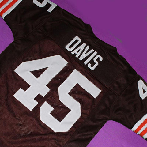 The Express Ernie Davis Football Jersey