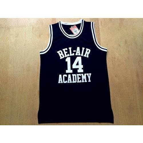 888463e81d31 Will Smith Bel Air Academy Basketball Jersey Stitched Black