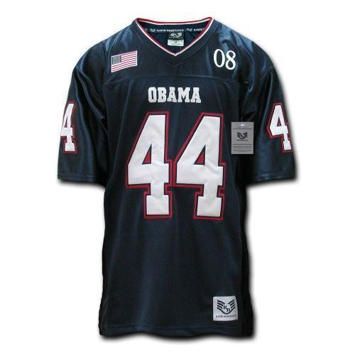 Obama Football Jersey #44 Full Embroidery