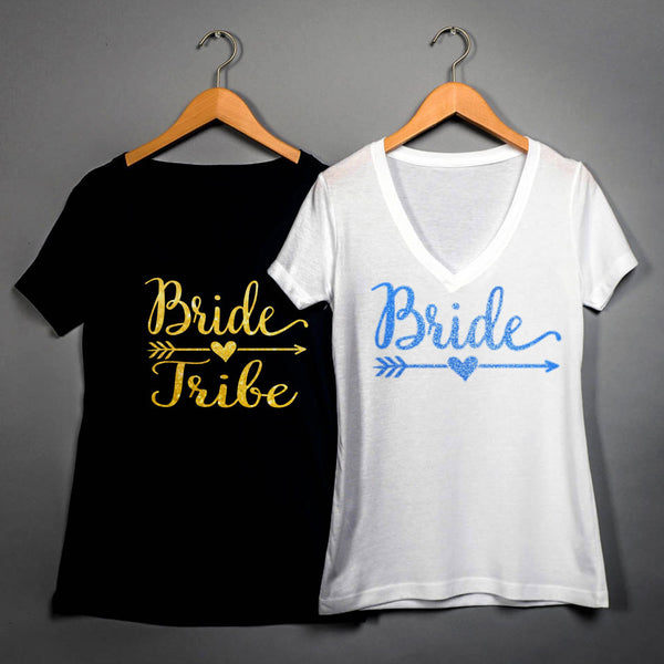 Bride Tribe Crew Neck T-Shirt