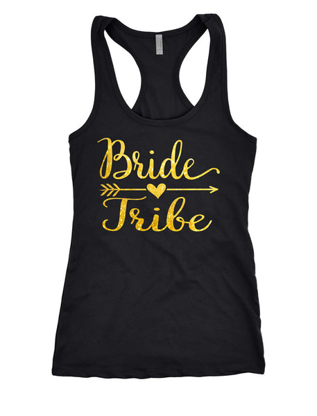 Bride Tribe shirts, bridal party shirts under $10, bridesmaid shirts