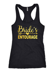 bride's entourage shirts	, bachelorette tank tops , bride tank top 140