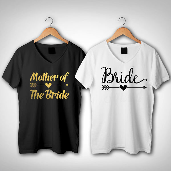 Mother of the bride  shirt, Mother Of the Groom V neck T shirt