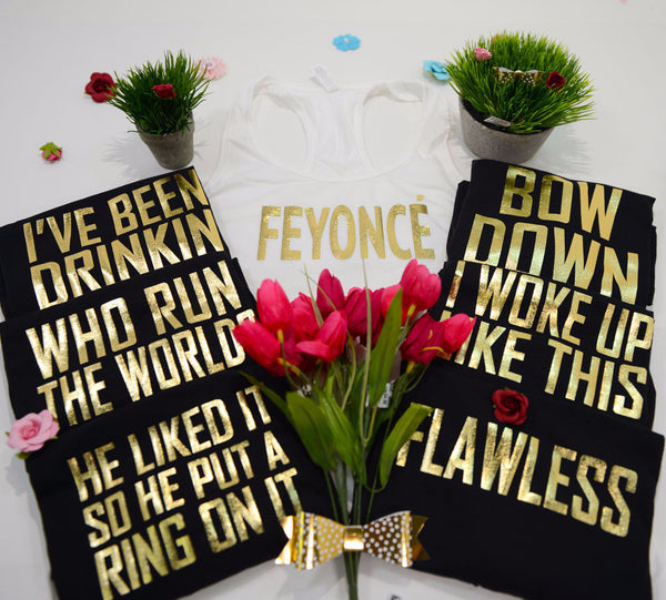 Feyonce bachelorette Shirts, bridesmaid tank tops, bride to be shirts 109