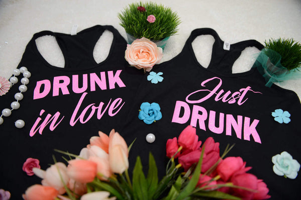 Drunk in love shirts, feyonce bachelorette, just drunk tank top, 113