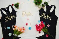 Tribe Tank Top, Bridesmaid shirt, Bachelorette party shirts, Bridal Party shirts,106