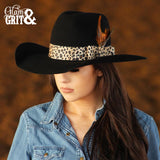 Black Calamity Collection Felt Hat
